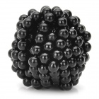 5mm Neodymium Magnet Sphere DIY Puzzle Set - Black (216PCS)