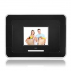 "Ken-1 2.4"" TFT LCD 300KP Digital Peephole Camera Door Viewer - Black + White (2 x AA)"