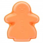 SP99001 Little Human Figure Shaped Cake Maker DIY Mould Tray - Orange