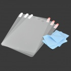 Protective Clear Screen Protectors w/ Cleaning Cloth for Ipad MINI (3-PCS)