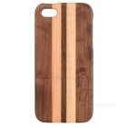 Detachable Protective Wooden Case for Iphone 5 - Brown