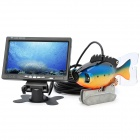 "GSY8000A 7"" TFT Underwater Fish Finder Video Camera Standard Set w/ 20m Cable - Black"