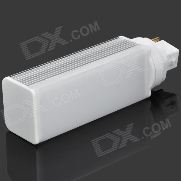 G24 4W 6500K 280lm SMD 3014 27-LED White Light Lamp (AC 90~264V)