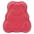 SP98039 Cute Bear Shaped Cake Maker DIY Mould Tray - Strawberry Red
