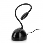 HX-02 USB 2.0 Flexible Desktop Microphone for PC / Laptop - Black