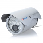 "XUYING TS-906C-YS 1/3 ""CCD водонепроницаемые камеры наблюдения Вт / 9-LED IR Night Vision - Silver"