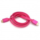 143cm Deep Pink HDMI 1.4a Cable