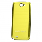 Replacement Battery Back Cover Case for Samsung Galaxy Note 2 N7100 - Yellow Green
