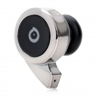 Woowi BTEC018 Snail Type Mini Bluetooth V2.1+EDR Mono Headset with Microphone - Black + Silver