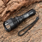 UltraFire WK-19 180lm 5-Mode White Light Diving Flashlight - Black (1 x 18650)