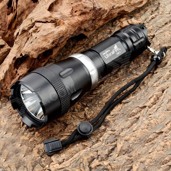 UltraFire CR-7 900lm 5-Mode White Diving Flashlight - Black (1 x 26650) наушники akg y20 белый y20wht
