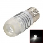 SENCART E17 3W 180LM Cool White Light LED Bulb - Silver (12V)