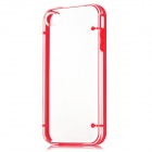 Newtons Concise Protective Plastic Back Cover Case for Iphone 4 / 4S - Red + Transparent
