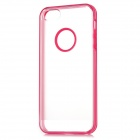 Newtons Concise Matte Design Protective PC Back Cover Case for Iphone 5 - Deep Pink + Translucent