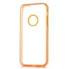 Newtons Concise Matte Design Protective PC Back Cover Case for Iphone 5 - Orange + Translucent