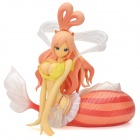 Sexy and Beautiful Shirahoshi Mermaid Doll - Red + Yellow + Pink