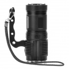 UltraFire UF-T90 4 x Cree XM-L U2 2000lm 2-Mode Memory Crown Head Flashlight - Black (4 x 18650)
