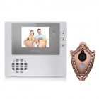 "FuKang DB208B 2.8"" LCD 300KP Digital Peephole Camera Door Viewer - White (3 x AAA)"
