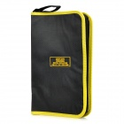 EXPLOIT 600D Zippered Tools Carrying Bag - Black + Yellow