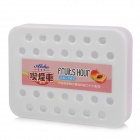 Aloha FF062 Refreshing Fragrance Honey Peach Scent Air Freshener for Car Auto - Deep Pink