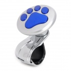 I-POP BD1007 Car Truck Aluminum Alloy Steering Wheel Spinner Knob Handle - Blue + Silver