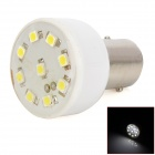 S25 1.5W 40lm 9-SMD 3528 LED White Light Motorcycle Brake Lamp (12V)