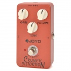JOYO JF-03 Guitar Crunch Box Digital Distortion Effect Pedal - Orange Red