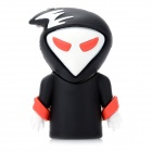 Creative Cartoon Death Style USB 2.0 Flash Drive - White + Black (8GB)