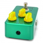 JOYO JF-01 Guitar Vomtage Overdrive Effect Pedal - Green + Yellow (1 x 9V 6F22)