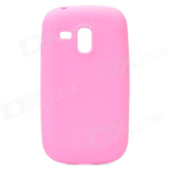 Protective Silicone Case for Samsung i8190 Galaxy S3 Mini - Pink