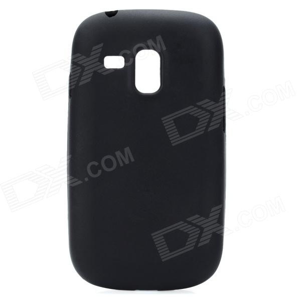 Protective Silicone Case for Samsung i8190 Galaxy S3 Mini - Black protective silicone case for nds black
