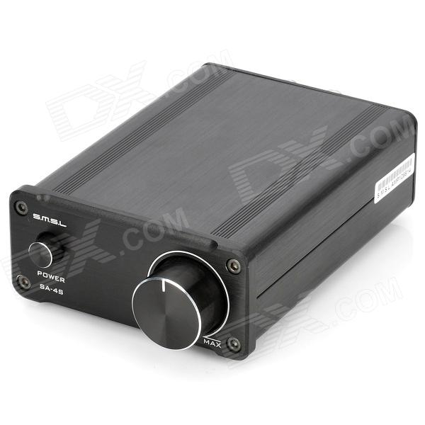 SMSL SA-S4 TA2024 15W x 2 HiFi Digital Amplifier - Black (DC 12~14V)