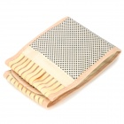 QiaoJia Self-Heating Protection Waist Pad - Beige + Yellow