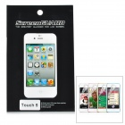 Protective Glossy PET Screen Protector Guard for Ipod Touch 5 - Transparent