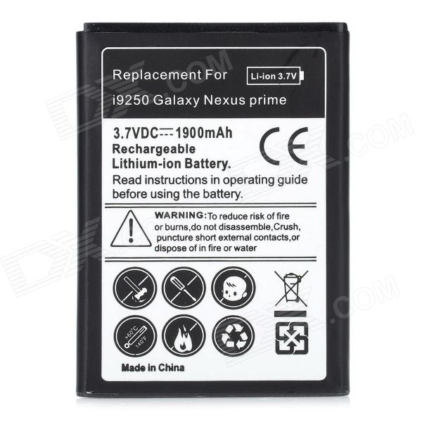 Replacement 3.7V 1900mAh Li-ion Battery for Samsung i9250 Galaxy Nexus