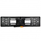 CAM-110 European Car License Wired Rearview Camera - Black