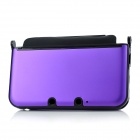 Protective Aluminum + Plastic Case for Nintendo 3DS XL / 3DS LL - Purple