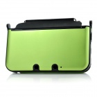 Protective Aluminum + Plastic Case for Nintendo 3DS XL / 3DS LL - Green