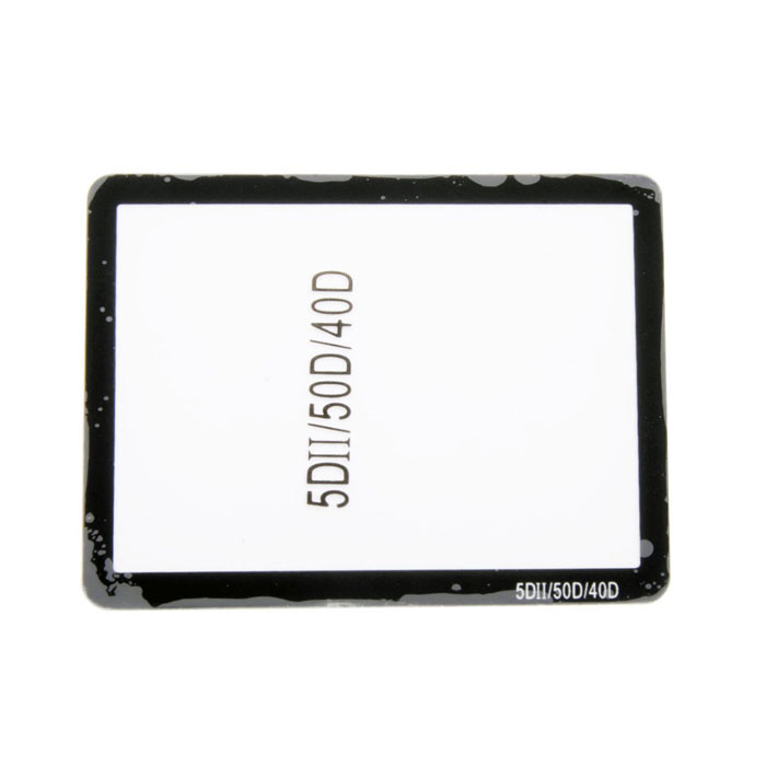 Professional Optical Glass LCD Screen Protector for Canon 5DII / 50D