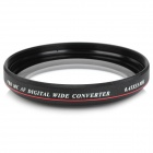 Zomei 55mm 0.45X Super Thin Wide Angle Conversion Lens for Sony A580 18~55mm - Black