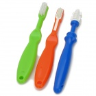 Baby Training Toothbrush Set - Green + Orange + Blue (3 PCS)