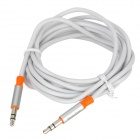 PowerSync 35-ERMM189 3.5mm Male to Male Audio Transmission Cable - White (180cm)