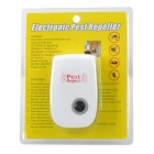 LP-03 Multi-Function de Pragas Repeller ultra-sônico do mosquito - Branco (2-Flat-Pin Plug)