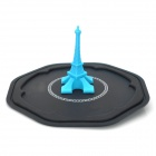 Retro Eiffel Tower Style Silicone Cup Cover - Blue + White