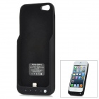 Tragbare 2000mAh Mobil External Power Battery Pack w / Stand-Halter für iPhone 5 - Black