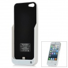 Tragbare 2000mAh Mobil External Power Battery Pack w / Stand-Halter für iPhone 5 - White