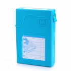 "Mukii Transimp ZIO-P015-BL Protective Plastic Case for 3.5"" Hard Drive Device HDD - Blue (Max 2TB)"