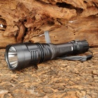 UltraFire UF-800 Cree XM-L T6 860lm 5-Mode White Flashlight - Metallic Grey (1 x 18650)