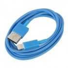 8-Pin Blitz Stecker auf USB Male Charging & Datenkabel für iPhone 5 - Blau (96cm)