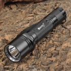 RUSTU L3B 800lm 5-Mode Memory White Flashlight - Black (1 x 18650)